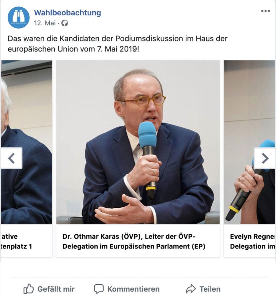 Spitzenkandidaten EU Wahl 2019