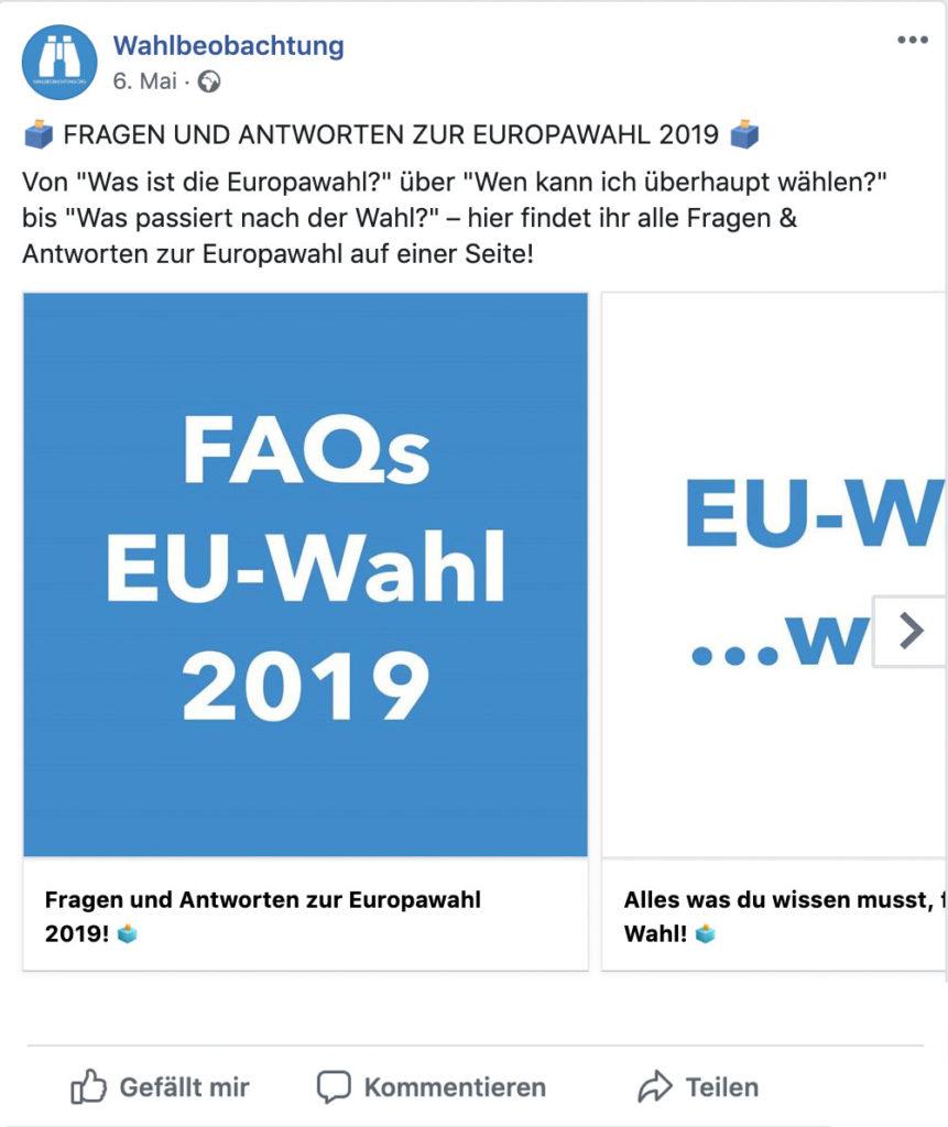 FAQ EU-Wahl Posting